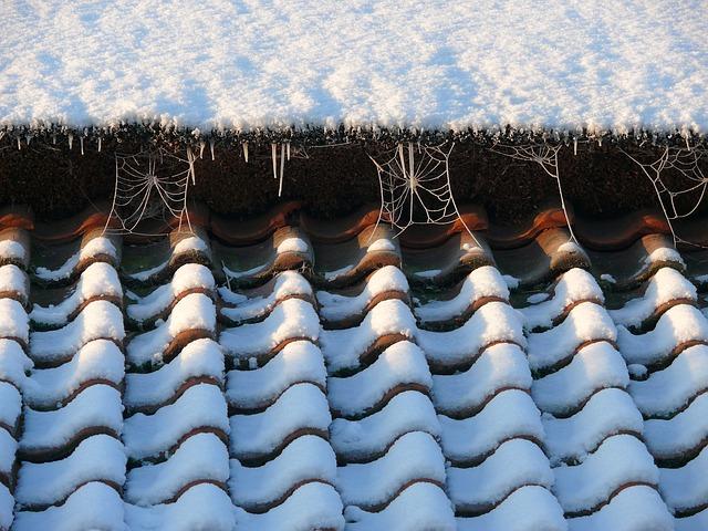 Särskilt under vintern är det viktigt att se över sitt tak. Om det samlas stora mängder snö på taket riskerar det att rasa.